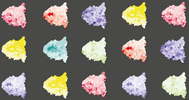 Cartographie des ambiances urbaines réalisé par Kamisphère