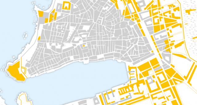 Carte de Marseille sous Louis XIV