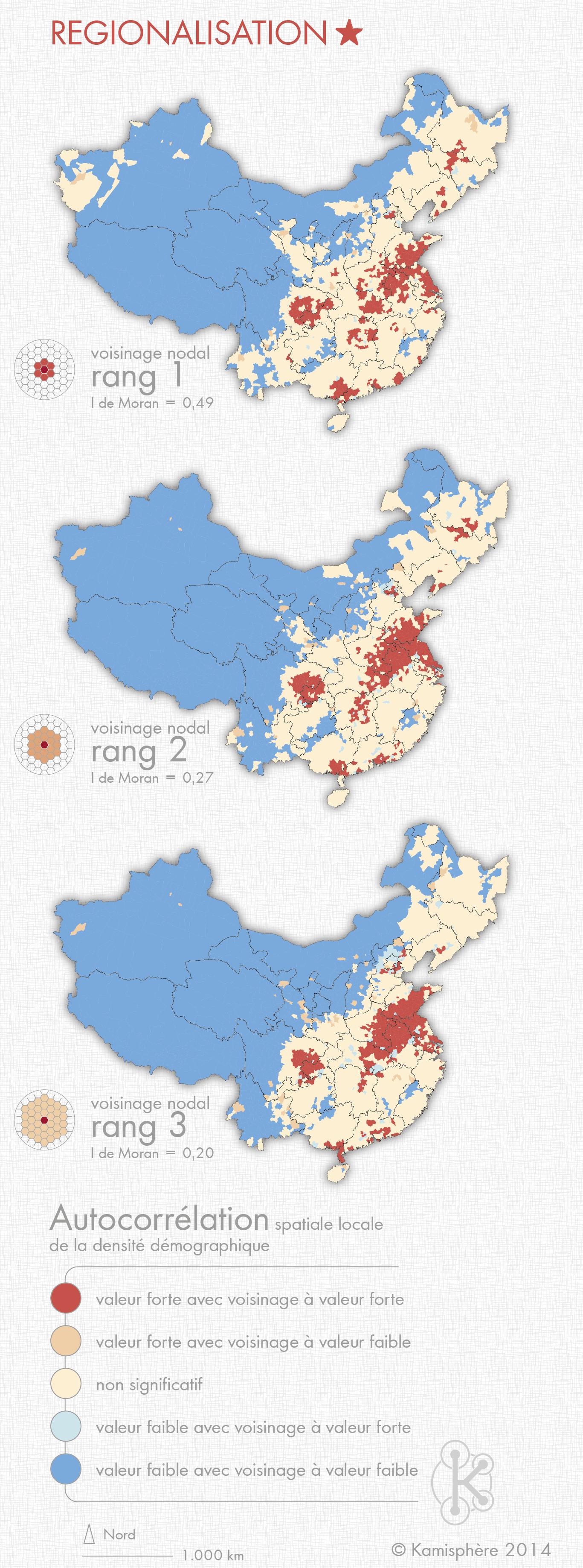 cartographie réalisée par les cartographes de Kamisphere